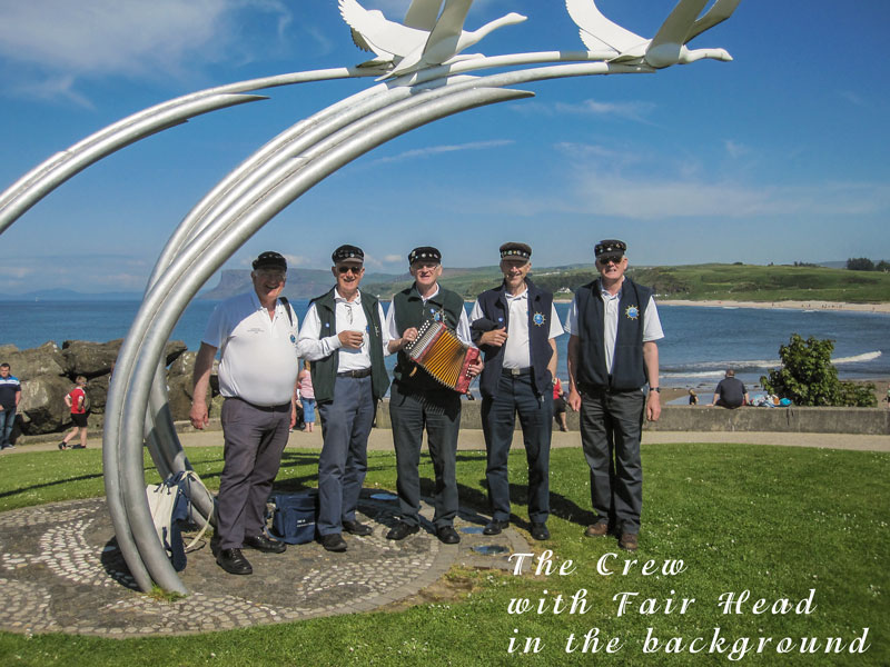 The Crew at Ballycastle