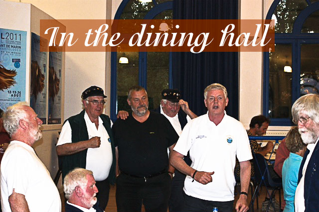 Dining Hall Singing