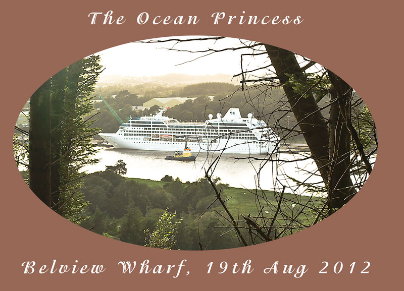 Ocean Princess at Belview