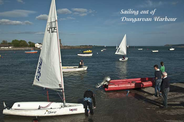 Sailing in Dungarvan